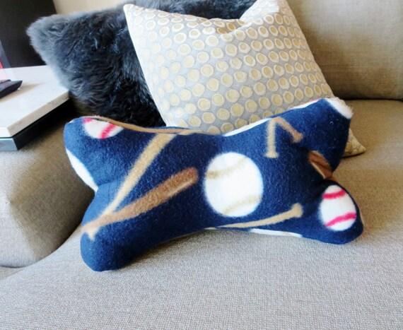 Items Similar To Bone Shaped Neck Pillow Baseball