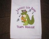 Mardi Gras towel