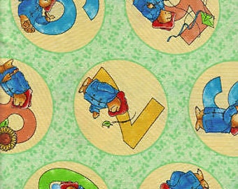 Paddington Bear Fabric by Quilting Treasures (by the yard)