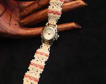 Micromacrame Watch