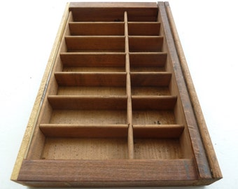 miniature wooden printer tray 4