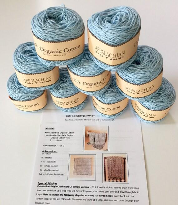 Organic Cotton Yarn Appalachian Baby Design Organic