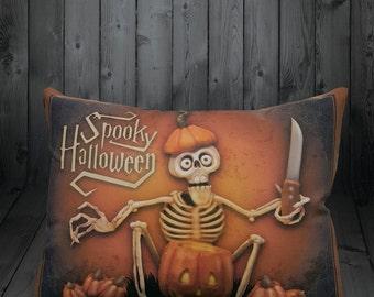 Spooky Halloween Pillow