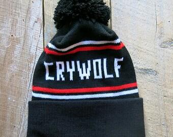 Crywolf Knit Pom Toque