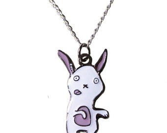Zombie Bunny Necklace