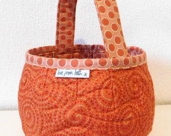 Pumpkin Bags PDF sewing pattern