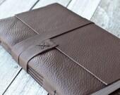 Large Brown Leather Journal, Sketchbook
