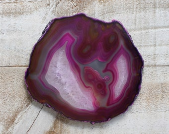 Agate Trivet Tray - Pink