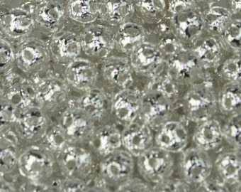 Wholesale Lot 500 pcs of Silver Plated Filigree Round Beads Spacer - 4mm - Ship from California USA