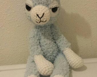 Custom Amigurumi Alpaca made to order