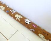 Draft Stopper -  Brown Door Snake - Nursery Decor - Dog Draft Stopper. 188