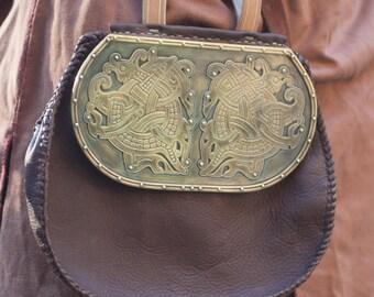 Custom Viking Purse- bronze