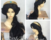 Princess Jasmine Broadway Style Costume Wig - A True Enchantment Original