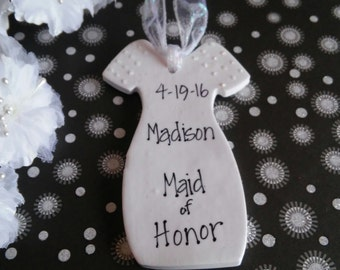 Maid of Honor Personalized Gift, Wedding Party Gift, Personalized Gift