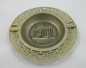Vintage Aohnai Greek Ornate Ashtray
