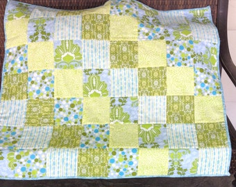 Ready to Ship  Adorable Baby Quilt Handmade