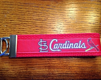 Cardinals Key Fob Keychain