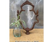 Reserved for d - do not buy - Architectural Salvage - Finial - Decorative Finial - Art Nouveau - Repurpose - Metal Finding - Farmhouse Decor