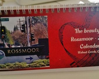 Beauty of Rossmoor 2016 Desktop calendar
