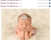 Baby Headband Newborn Headband Baby Headband Princess Headband Photography Prop Crown Headband Baby Girl Headband Photo Prop