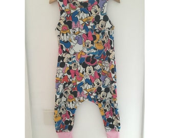 Mickey and Friends Romper with Matching Lining Romper