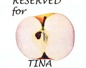 RESERVED for Tina