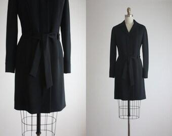 minimalist coat dress