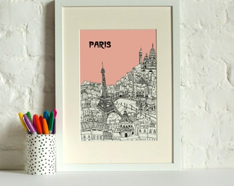 Paris Screen Print