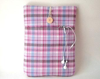 MacBook Pro Case, MacBook Pro Sleeve, MacBook Pro Touch Bar, MacBook Air 13 Sleeve, MacBook Pro 13 Case, Laptop Case,  MacBook Cover, Plaid