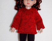 "Fall Sale Red Top & Pants set fits 10"" Ann Estelle Linda McCall Patsy - Doll Clothes  tkct752"