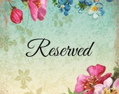 Reserved Listing for Rayon