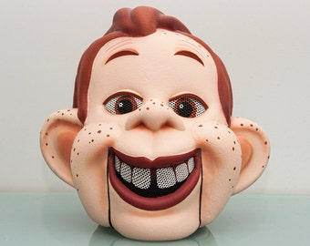 HOWDY DOODY COSTUME Adult Mascot Latex  Over the Head Mask