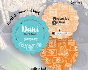 Photographer Business Cards, Camera Business Card, Custom Business Card, Artsy Card Design, Business Card,  // Dani S-SB25 UU4
