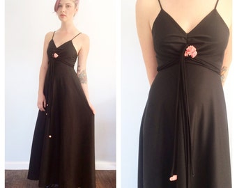 Vintage Rose Maxi Dress