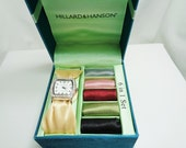 Hillard & Hanson Womens 6 in 1 Watch with Satin Watch Band Set- Price Reduction