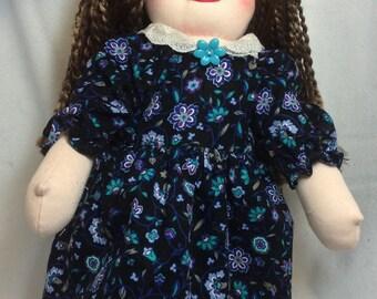 "Marilee, 18"" Waldorf-inspired Cloth Doll"