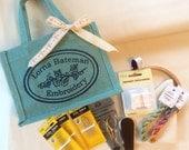 NEW! Designer bag embroidery kits