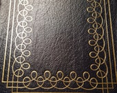 Poems of John Donne Leather Bound navy blue book 100 Greatest Books Ever Written Easton Press