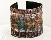Summer Bracelets - Leather Jewelry Cuffs - Women's Fashion, Silver, Gold, Turquoise, Bronze, Black