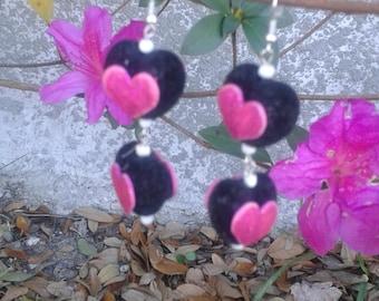 V03 Valentine earrings