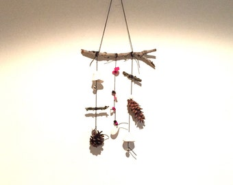 Ramble // Wall Hanging / mobile / sculpture // Found and Made Objects - Handmade