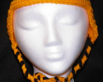 Tiger Crocheted Hat
