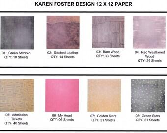 12 X 12 Scrapbook Paper