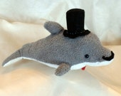 Dapper Dolphin Plush Toy