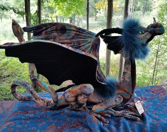 This is Sibyl, Reserved for Manjula... a Guardian Peacock Dragon