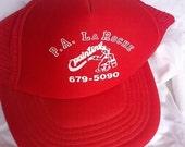 SALE P A LaRoche Painting Co trucker hat baseball cap hat grunge punk
