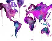 Custom World Map No.8