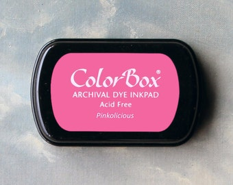 Pink Stamp Pad (Pinkolicious) // Archival ink // ColorBox