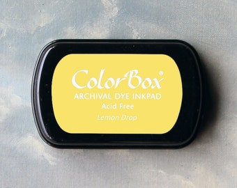 Yellow Stamp Pad (Lemon Drop) // Archival ink // ColorBox