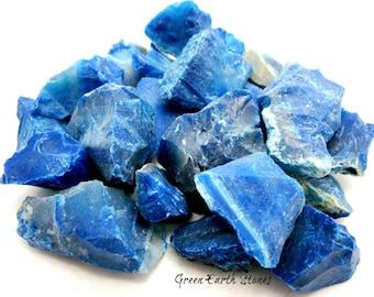 Blue Agate Rough Stone, Large, Rock Hound, Feng Shui, Crystal Healing, Gemstones, Blue Stones,